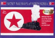 Secret Railways of North Korea DVD Electric Narrow Gauge Steam Diesel 1989-2003