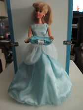 1991 Mattel Cinderella Barbie with Pillow, Slippers and Earrings