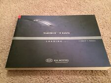 KIA Spectra Factory Owners User Manual 040 PS 013