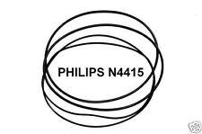 SET RIEMEN PHILIPS N4415 TONBANDMASCHINE N-4415 EXTRA STRONG FABRICKFRISCH NEU