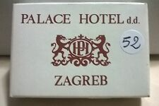 SAPONETTA LAHOR - PALACE HOTEL d.d. ZAGREB - RETTANGOLARE CONF. IN SCATOLA N. 52