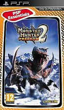 MONSTER HUNTER FREEDOM 2 ESSENTIALS EDITION SONY PSP GAME
