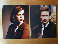 2 Akte X Fotos: Fox Mulder & Dana Scully 20,3x25,2, David Duchovny, G. Andersson