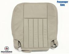 2003-2004 Lincoln Navigator Luxury -Passenger Side Bottom Leather Seat Cover Tan