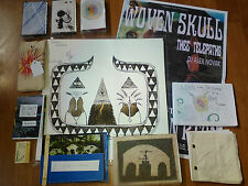 WOVEN SKULL-LAIR OF THE GLOWING...LP(PENSKE)SIGNED+4 TAPES/ZINES