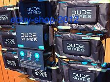 """Dude Wipes """"Save Your Arse!"""" Value Package Deal! 8 Flushable Packs + 2- 30 Packs"""