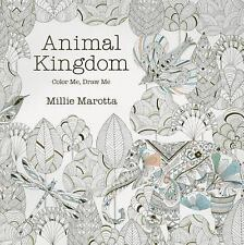 NEW Animal Kingdom: A Coloring Book Adventure by Millie Marotta (2015, Pa