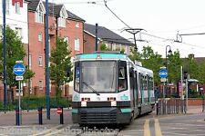 Manchester Metrolink 2003 Weaste Stop Tram Photo Ref P454