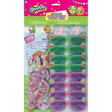 Shopkins Party Favors Set - 48 pieces NEW Shopkins Birthday Party Supplies