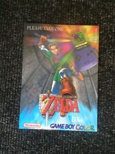 THE LEGEND OF ZELDA LINKS AWAKENING DX PROMO CARD - ULTRA RARE - DISPLAY