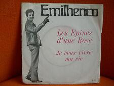 VINYL 45 T – EMILHENCO : LES EPINES D'UNE ROSE – AUTOPRODUCTION 1968 (E 555)