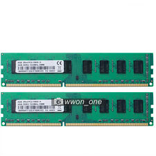 New 8GB 2x4GB PC3-10600 DDR3-1333Mhz 240pin Desktop Memory For AMD Motherboard