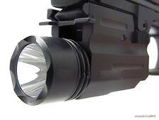 300Lumen CREE LED Flashlight for/Weaver/Picatinny rail 20mm for pistol/glock#A01