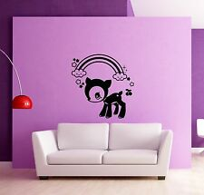 Wall Stickers Vinyl Decal Fawn Deer Baby Animal for Kids Room Nursery (ig943)