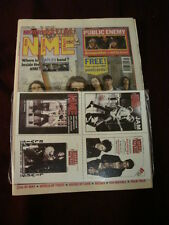 NME 1991 OCT 12 CHAPTERHOUSE PUBLIC ENEMY BEATLES MORRISSEY RIK MAYALL TALK TALK