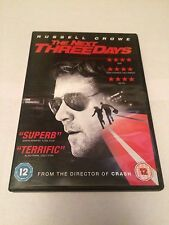 The Next Three Days (DVD, 2011) russell crowe, region 2 uk dvd