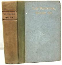 (Roycrofters)  The Philistine Vol XIII ~ Bound June - Nov 1901 w/ Covers & Ads