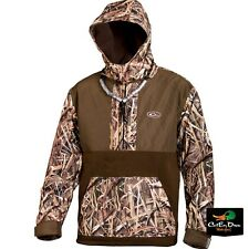 DRAKE WATERFOWL EQWADER MST SHOOTER'S 1/4 ZIP JACKET BLADES CAMO XL