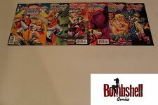 Harley Quinn Power Girl 1-6 Complete Comic Lot Run Set 1st Print Collection
