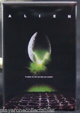 "Alien Movie Poster 2"" X 3"" Fridge / Locker Magnet. Classic Science Fiction"
