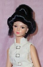 Doll Wig KD-120 Fuji, size 5- fits some RanD dolls, others, Synthetic Mohair
