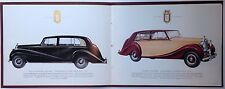 ✇ original Rolls-Royce Silver espectros folleto 1950er años brochure