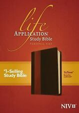 Life Application Study Bible NIV, Personal Size Tutone (2012, Imitation Leather)