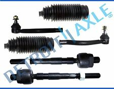 Brand New 6pc Inner & Outer Tie Rod + Rack & Pinion Tie Rod Boots 04-08 Pacifica