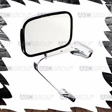 Quality Chrome Reversible Side Mirror Replacement  For Universal Truck And Van