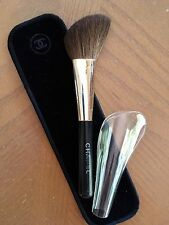 CHANEL ANGLED BRUSH #10 ~PINCEAU POUDRE BISEAUTÉ With Velvet Sleeve
