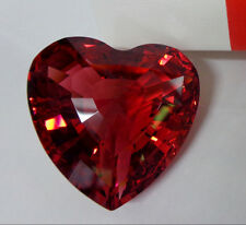 """1998 Limited Edition SWAROVSKI RED CRYSTAL HEART 3-D Love 1.5"""" Paperweight NIB!"""