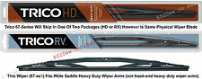 "TRICO 67-221 Wiper Blade (for RV, Bus & Commercial Truck) 22"" HD Wide Saddle"