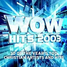 WOW Hits 2003 30 of the Year's Top Christian Artists and Hits 2002 2 Discs CCM