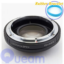 Focal Reducer Speed Booster Canon FD Lens to Micro Four Thirds m4/3 M43 Adapter