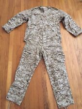 RARE! Middle East Iraq USMC Desert MARPAT Iraqi Army Uniform Medium Regular