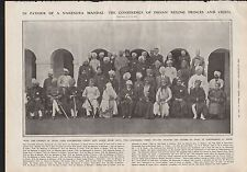 1919 IN FAVOUR OF A NARENDRA MANDAL CONFERENCE OF INDIAN RULING PRINCES & CHIEFS