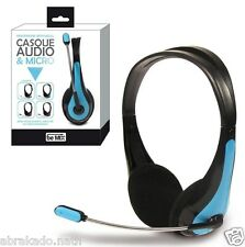 CASQUE AUDIO + MICRO FLEXIBLE MP3 PC TABLETTE SMARTPHONE