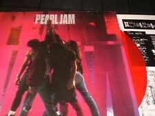 PEARL JAM   Ten   vinyl LP unplayed color RED