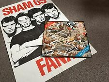 SHAM 69 - THAT'S LIFE - 1978 LP WITH POSTER EX - LOTS MORE PUNK IN MY EBAY SHOP