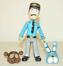 TOY MEXICAN FIGURE GUARD BLUE FIVE NIGHTS AT FREDDY'S ANIMATRONICS TERROR