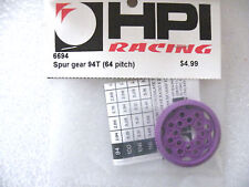 HPI 6694 Spur Gear 94T 64 pitch + balls / RS4 Tamiya Yokomo Associated Vintage