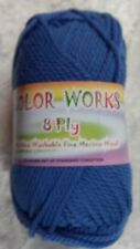 Heirloom Color Works 8 Ply #457 Blue 100% Wool