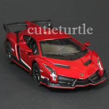 Kinsmart Lamborghini Veneno 1:36 Diecast Toy Car Red
