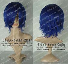 VOCALOID KAITO Short Dark Blue Cosplay Wig