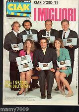 CIAK=N°7 LUGLIO 1991=CIAK D'ORO 1991=USA : I GRANDI FILM DELL'ESTATE