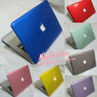 """10 colors Crystal Plastic Hard Case Cover Shell for Mac Pro 13"""" A1278/15"""" A1286"""