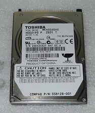 "HARD DISK 40 GB 2,5"" IDE TOSHIBA - MODEL: MK4026GAX 5400 rpm"