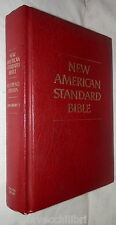 NEW AMERICAN STANDARD BIBLE Reference Edition Moody Press 1975 Bibbia Biblica