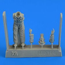 Aerobonus 480164 1/48 Resin Luftwaffe German Mechanic Office WWII