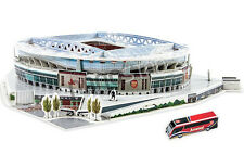 Oficial Arsenal Emirates Stadium 3D Modelo Puzzle producto con licencia Londres